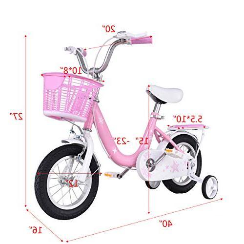 "Goplus Kids Wheels 16"" and Bicycle, Children Kids"