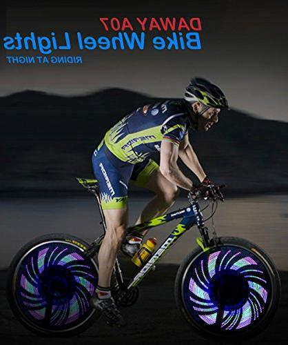 Light Waterproof Wheel Tire Cycling, Safety Accessories, & Dual Switch, Super Bright, 32 Include Batteries