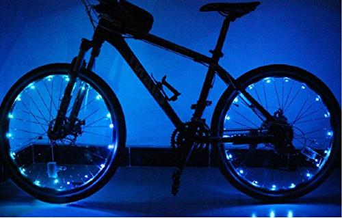 Bodyguard Bike Wheel and Wheel Light Bright LED with Batteries