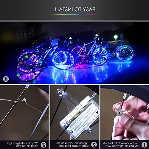 Bodyguard Wheel and Wheel String,Ultra Bright LED Batteries