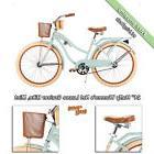 Huffy Bikes for Girls 24 inch Nel Lusso Cruiser Bike Beach W
