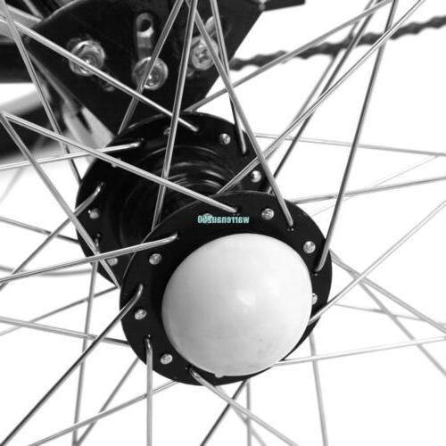"""Black 3-Wheel 24"""" Tricycle Trike"""