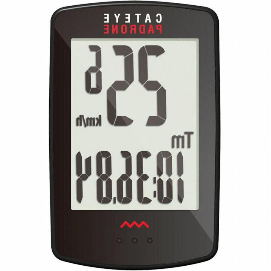 CATEYE BLACK CC-PA100W PADRONE WIRELESS BICYCLE COMPUTER - N