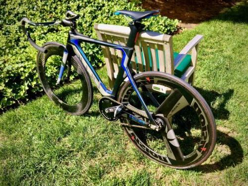 Blue Lehigh Track Complete Bike