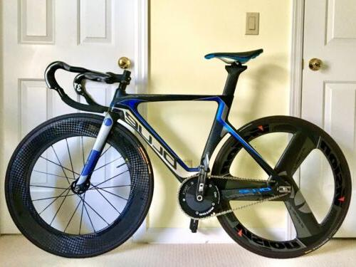 Blue Competition Track Bike
