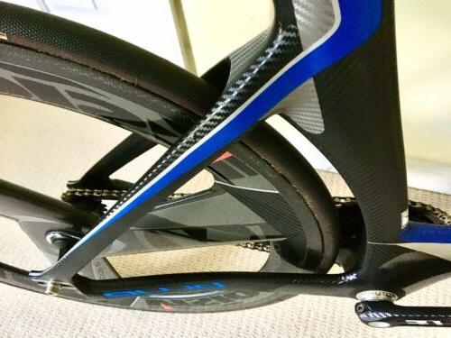 Blue Competition Lehigh Track Bike