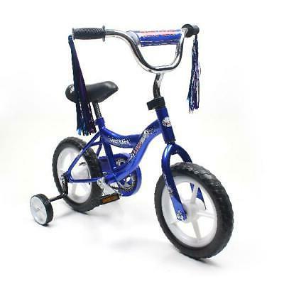 BMX 12 Inch Kids Girls Bike Front Basket Training Wheels  2