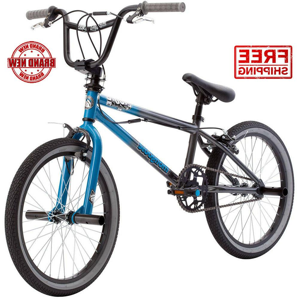 BMX Bike 20 Inch Mongoose Boys Bikes Mode 100 Freestyle Bicy