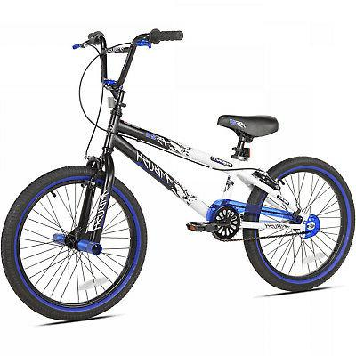 "Boys BMX Bicycle 20 Inch Wheels Summer 42"" 50"" Freestyle Stu"