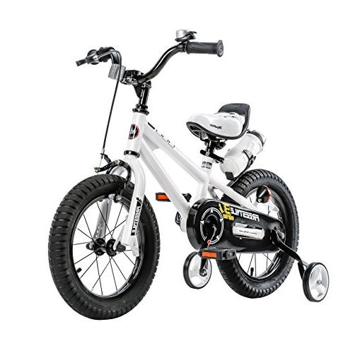 Royalbaby Freestyle Kids and Training Gifts Children, inch Wheels, White