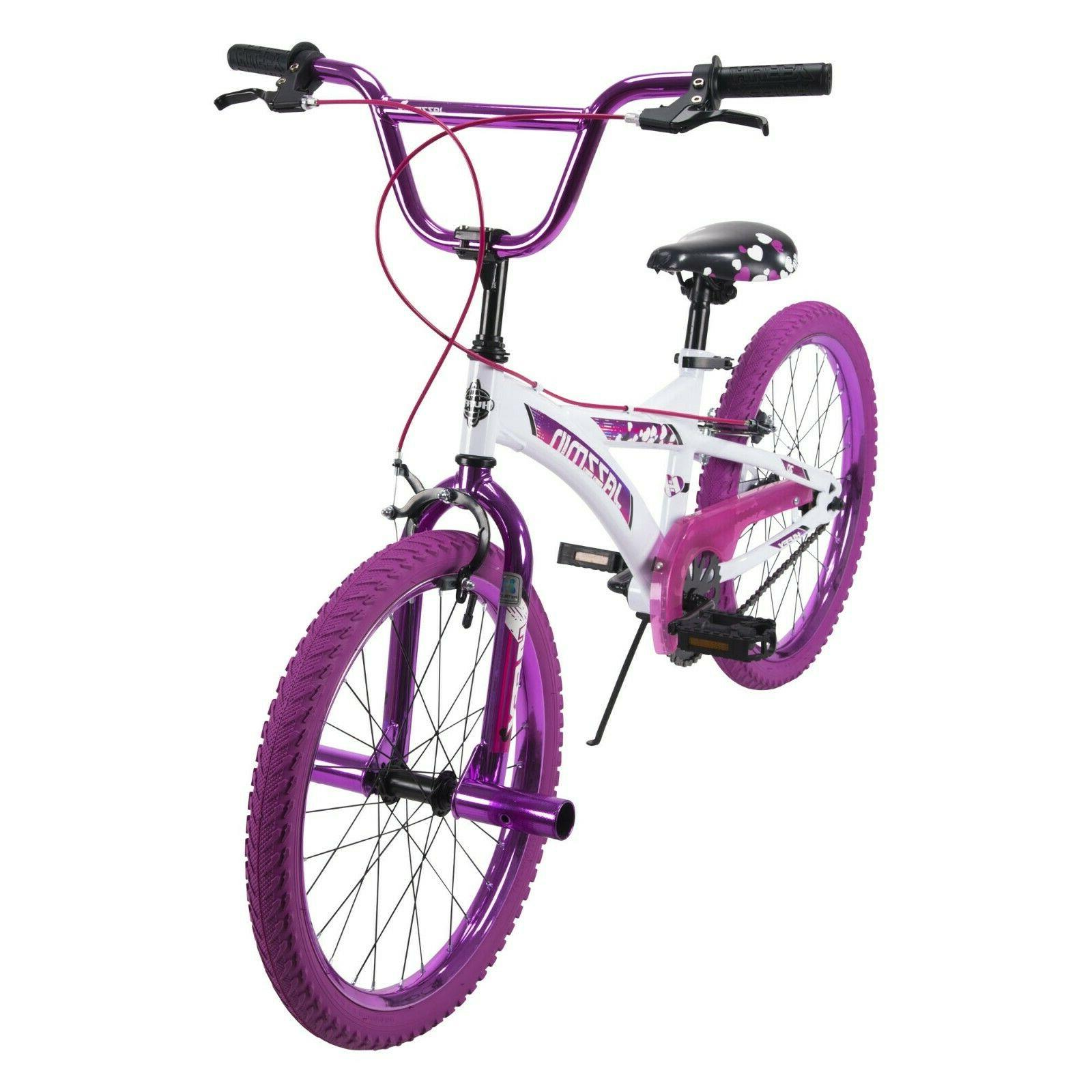 bmx girls bike jazzmin 20 inch metallic
