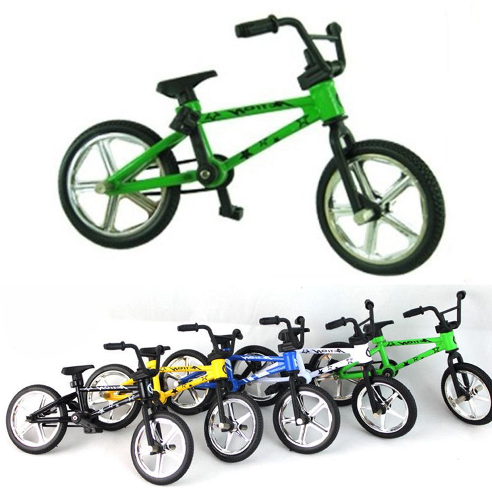 BMX Alloy Plastic Functional Bicycle <font><b>Bike</b></font> <font><b>Mini</b></font> <font><b>Bike</b></font> Fans 12.5*<font><b>9</b></font>*4.5cm