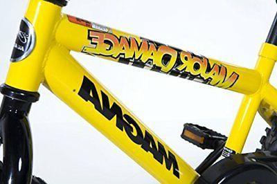 Boys Bike High Gloss Finish Handlebar Pad Coaster Brake 16In