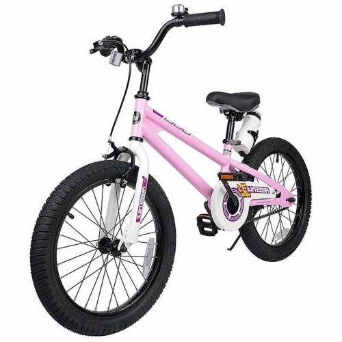 Boys Girls 18'' Kids Bike and Rear Coaster For Age