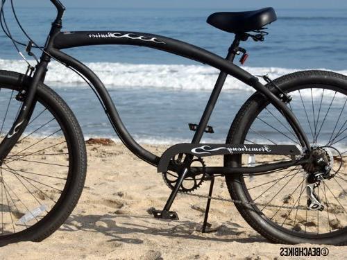 Firmstrong Bruiser Speed Beach 26-Inch, Matte Black