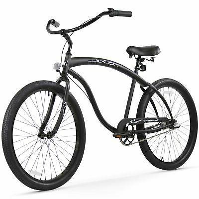 a81aaf755c3 Firmstrong Bruiser Man 3-Speed Beach Cruiser Bicycle, 26-Inch,