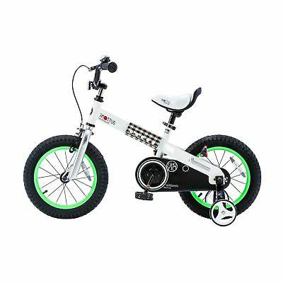 buttons green 18 inch kid s bicycle