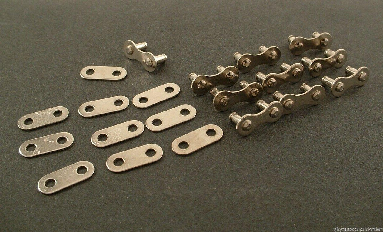 5Pcs Bike Bicycle Metal Chain Master Links Connectors Repair Parts 1//2*1//8