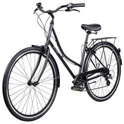 Pure City Dutch Style Step Thru City Cass Black 45CM Bike