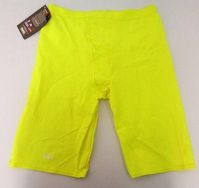 compression performance shorts lemon unisex athletic cycling