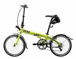 cooper folding bike lime