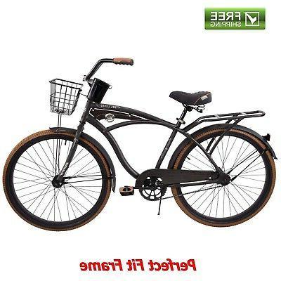 cruiser bike 26 men s gray commuter