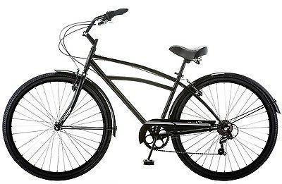 "Schwinn Cruiser Bike 29"" Black Comfort Men's Bicycle"