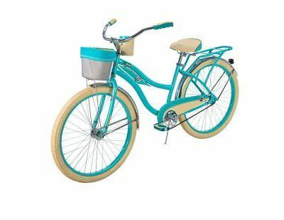 cruiser bike womens deluxe 26 inch teal