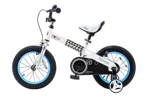 cubetube buttons 14 bicycle for kids blue