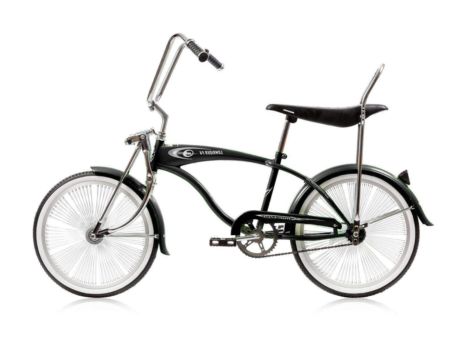 Custom Bike Blue 140 Spokes