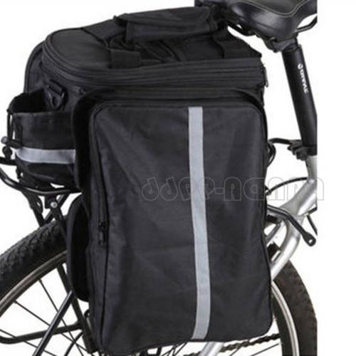 Cycling Bicycle Seat Rack Storage Shoulder w/ Cover