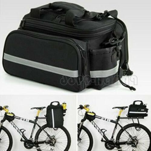 cycling bike bicycle rear seat bag rack