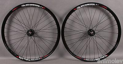 Weinmann DP18 Deep V Black 32h Track Bike Fixed Gear Wheels