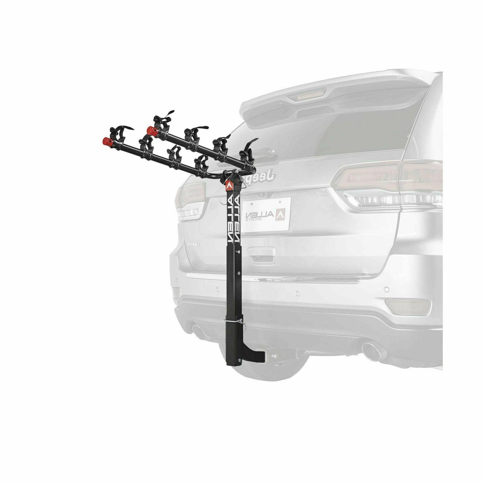 New Allen Sports Deluxe 3 Bike Hitch Mount Rack With 1.25/2