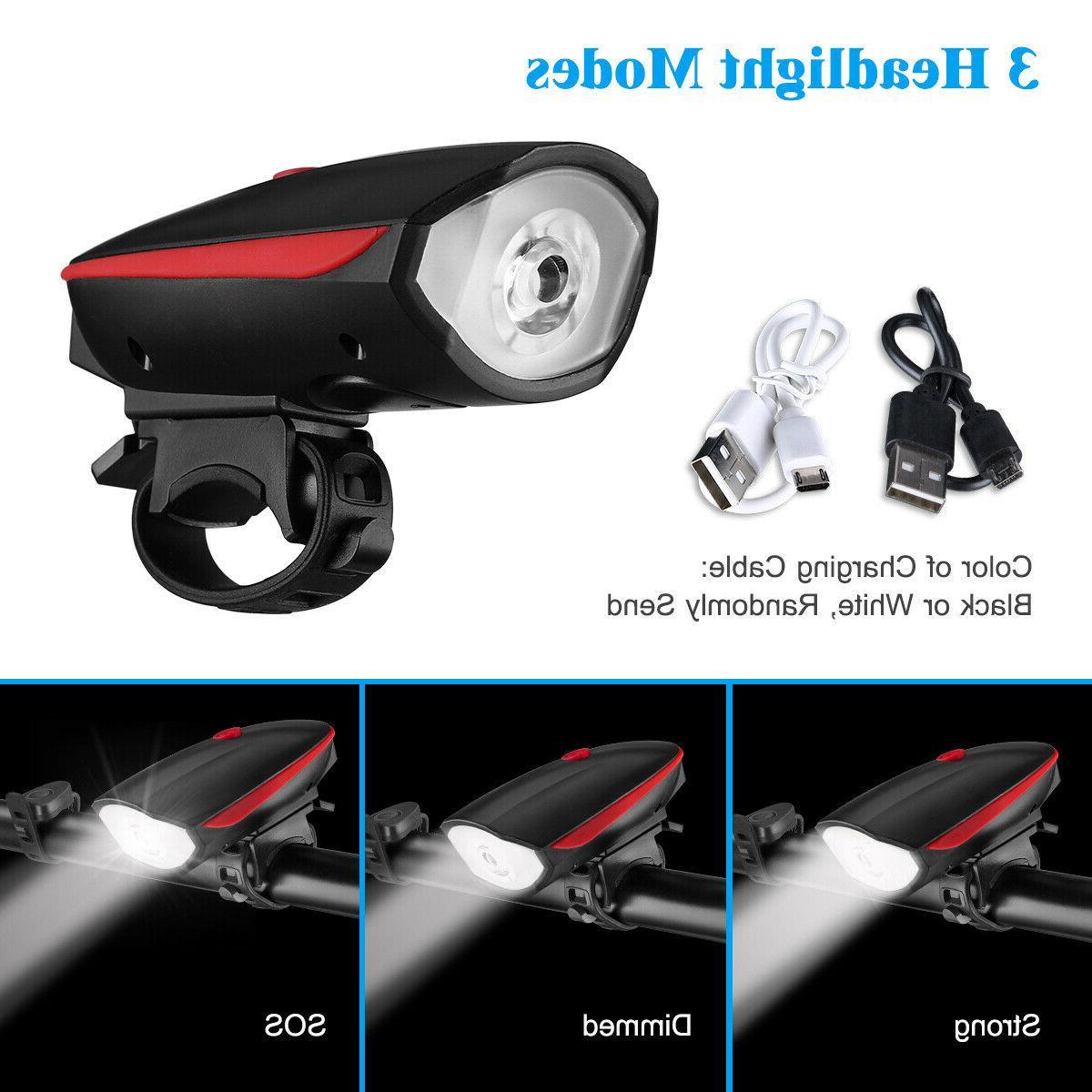 Super USB Led Bike Light Headlight US