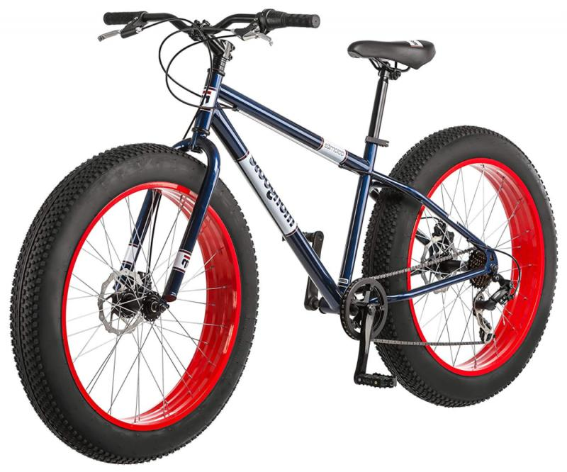 "Dolomite Fat Tire Mountain Bike,17""/Medium High-Tensile Stee"