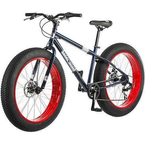 "26"" Mongoose Dolomite Men's 7-speed Fat Tire Mountain Bike,"