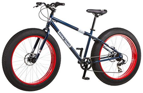 "26"" 7-speed Mountain Bike, Blue/Red"