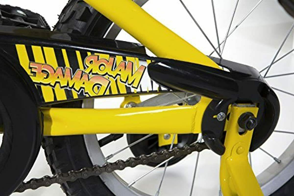 "Dynacraft 16"", Yellow/Black"