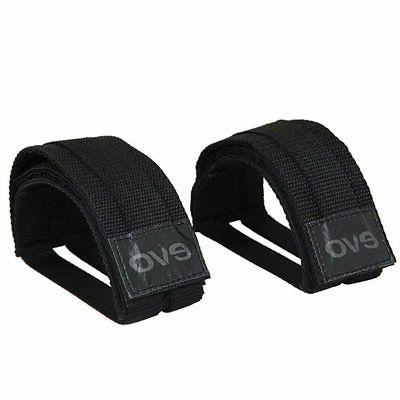 Evo E-Grip Platform Bicycle Pedal Toe Straps