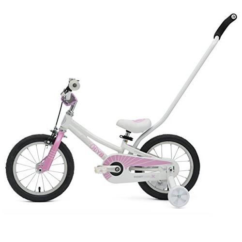ByK E-250L Girls Bike - White/Royal Pink