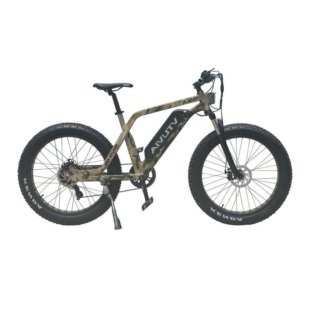 """Electric Bike Beach Bicycle 26"""" 48V 750W"""
