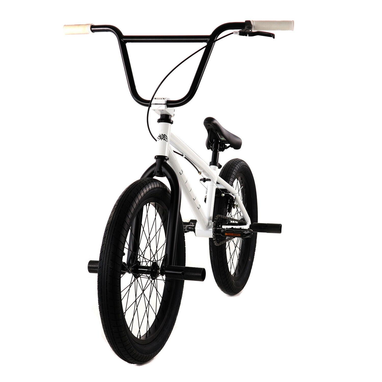 "White 20/"" Bicycle Stealth Elite BMX Bike"