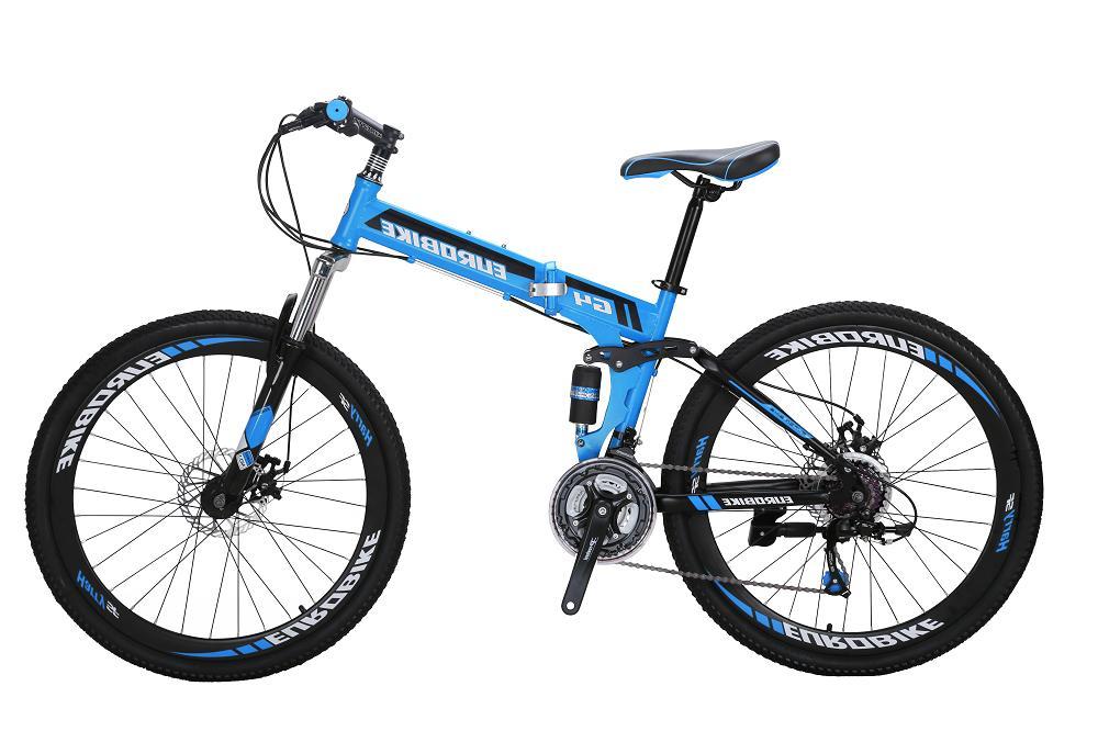Folding Full Suspension Speed Bicycle Disc BrakeMTB