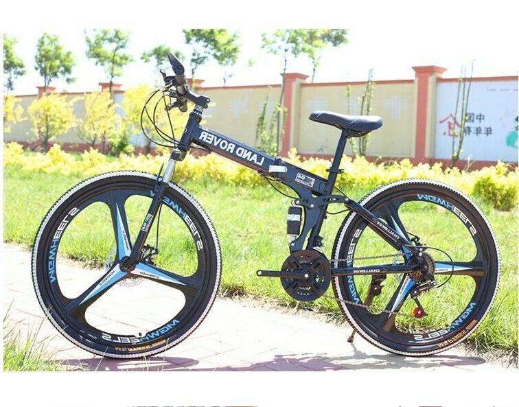 Full Folding Bike 21 Speed Bicycle Bikes MTB