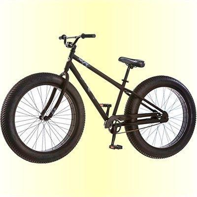 "Fat Tire Bike Mens Mongoose Bicycle 26"" Wheels 4"" Wide Boys"