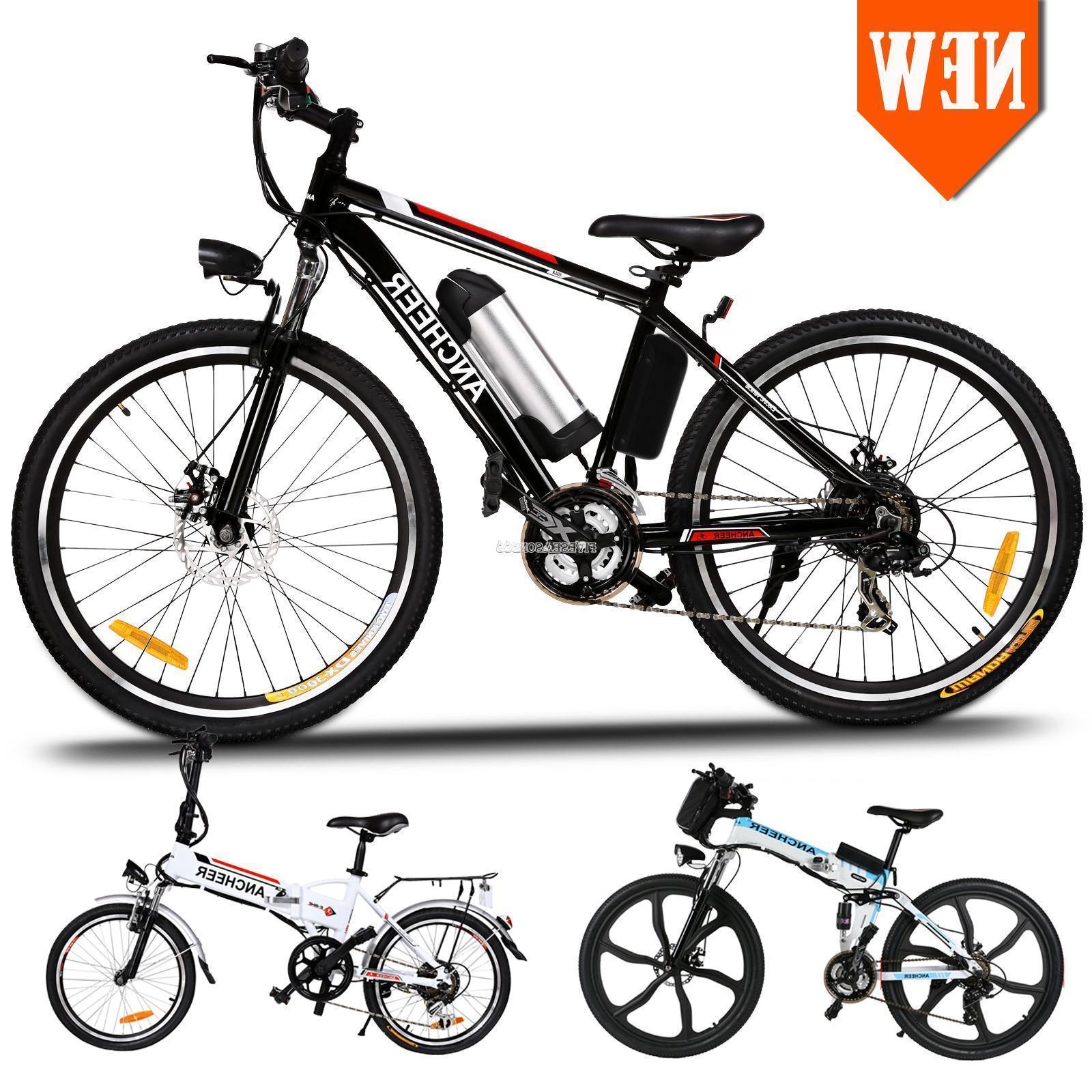 "26"" 36V Fat Tire Electric Bicycle Bike Ebike Mountain Beach"
