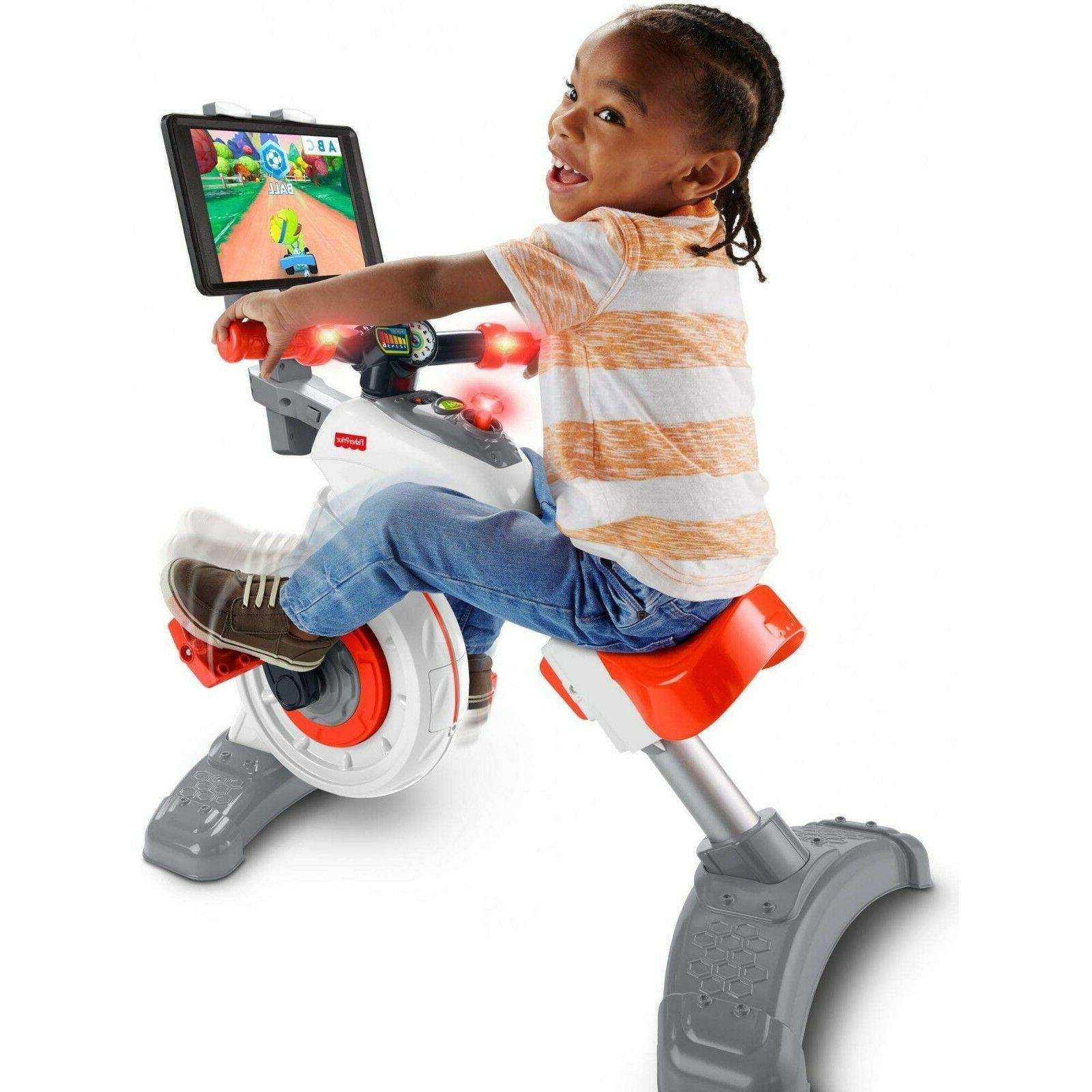 Ages 3-6 Preschool Fisher-Price Think /& Learn Smart Cycle Stationary Bike
