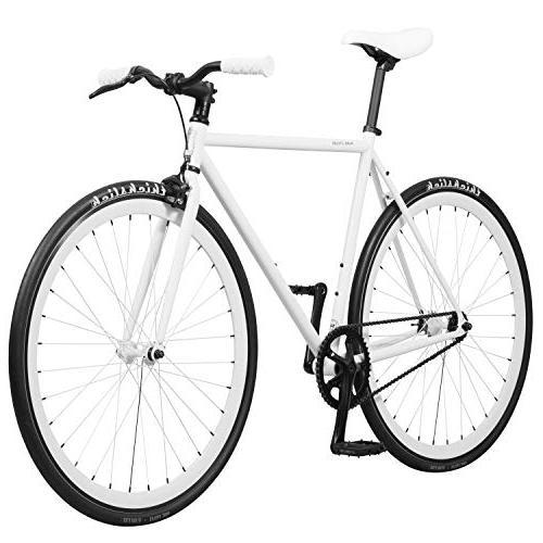 Pure Fix Original Gear Single Speed Romeo White, 58cm/Large