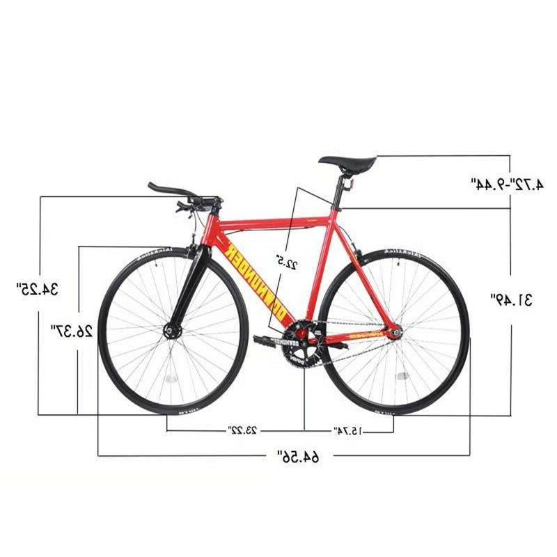 Fixed Gear Bike Single Bike Fiber Fork